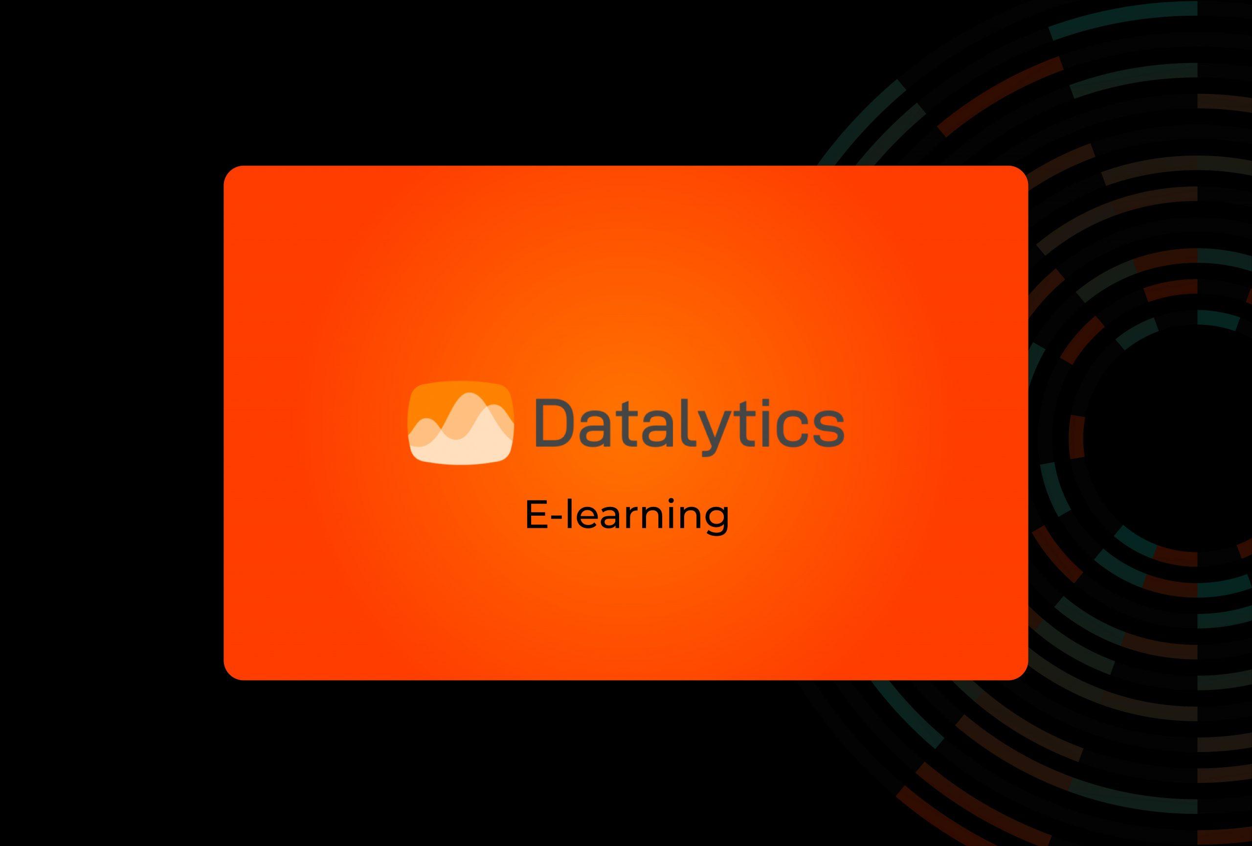 Datalytics: una plataforma de e-learning en Moodle