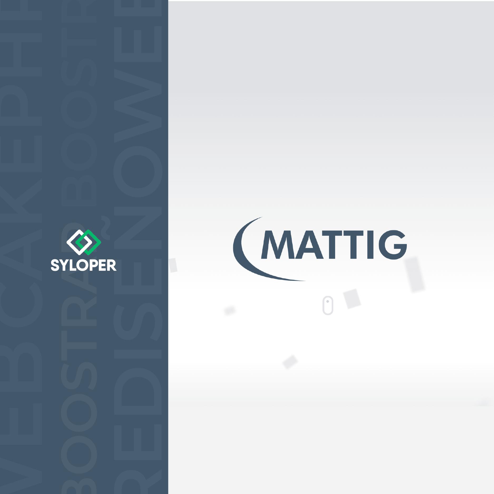 Mattig: renovación de sitio y rediseño de logo