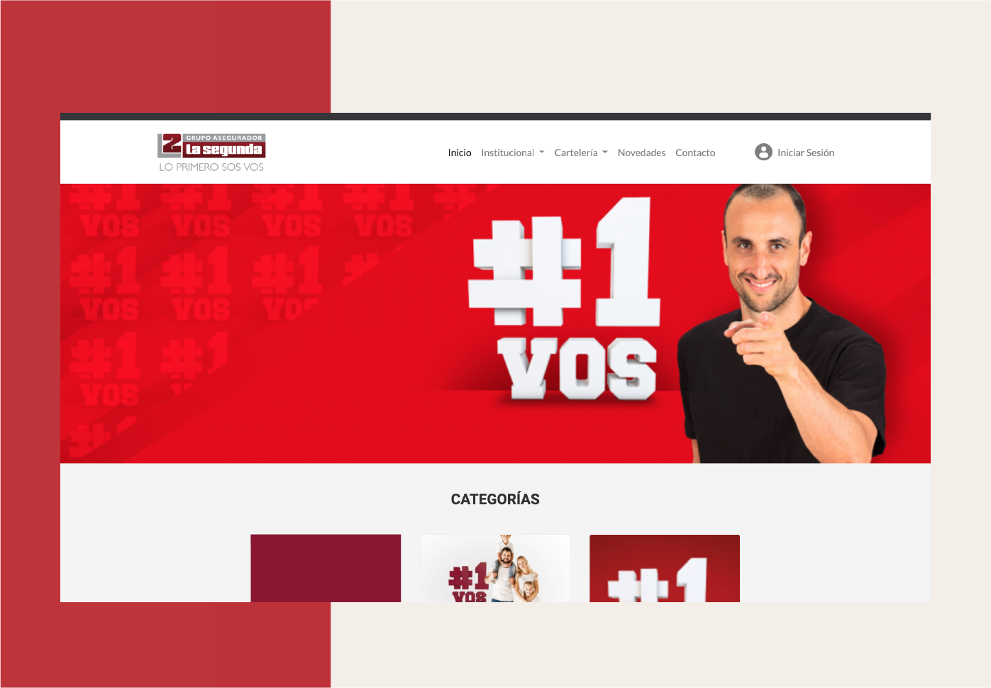 La Segunda: sitio web institucional