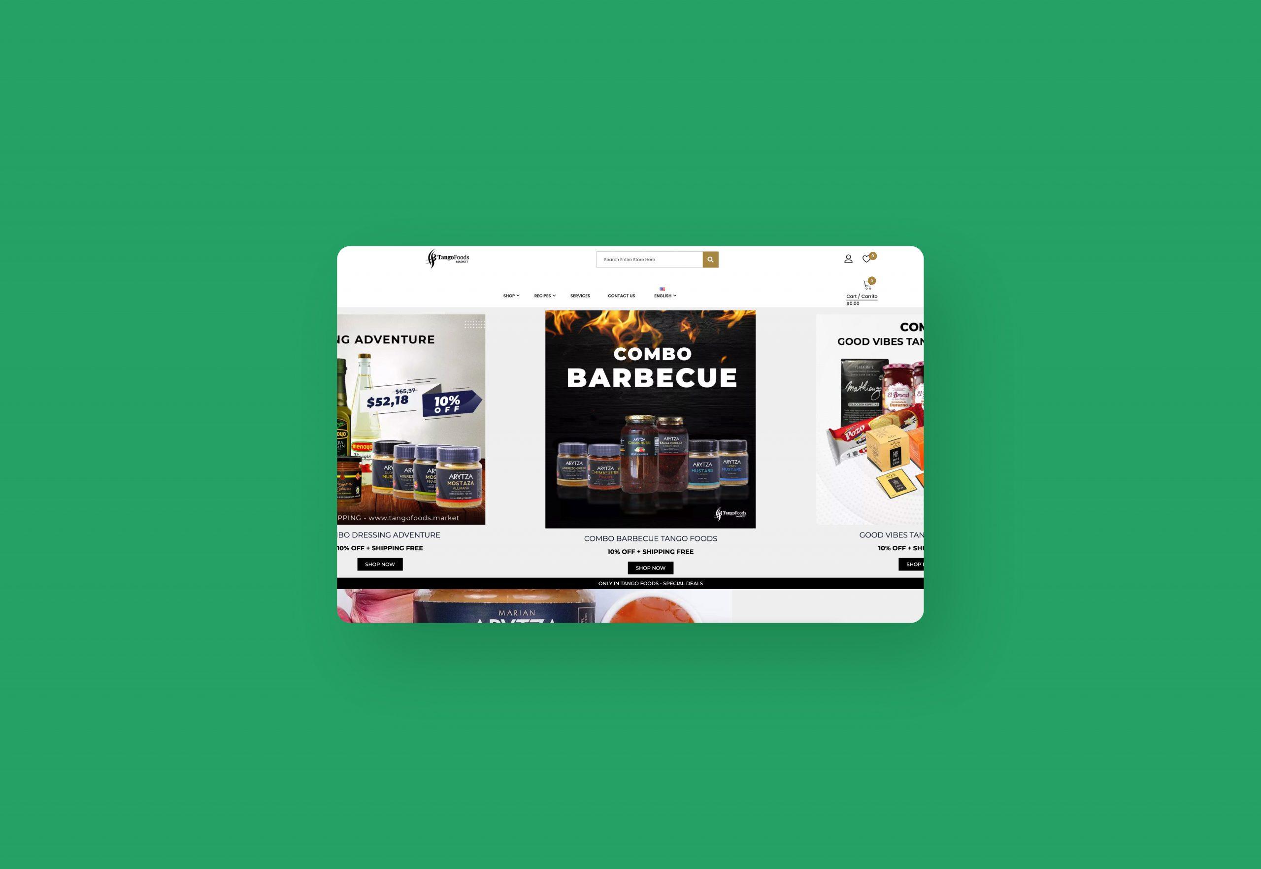 Tango Foods: una plataforma de e-commerce internacional