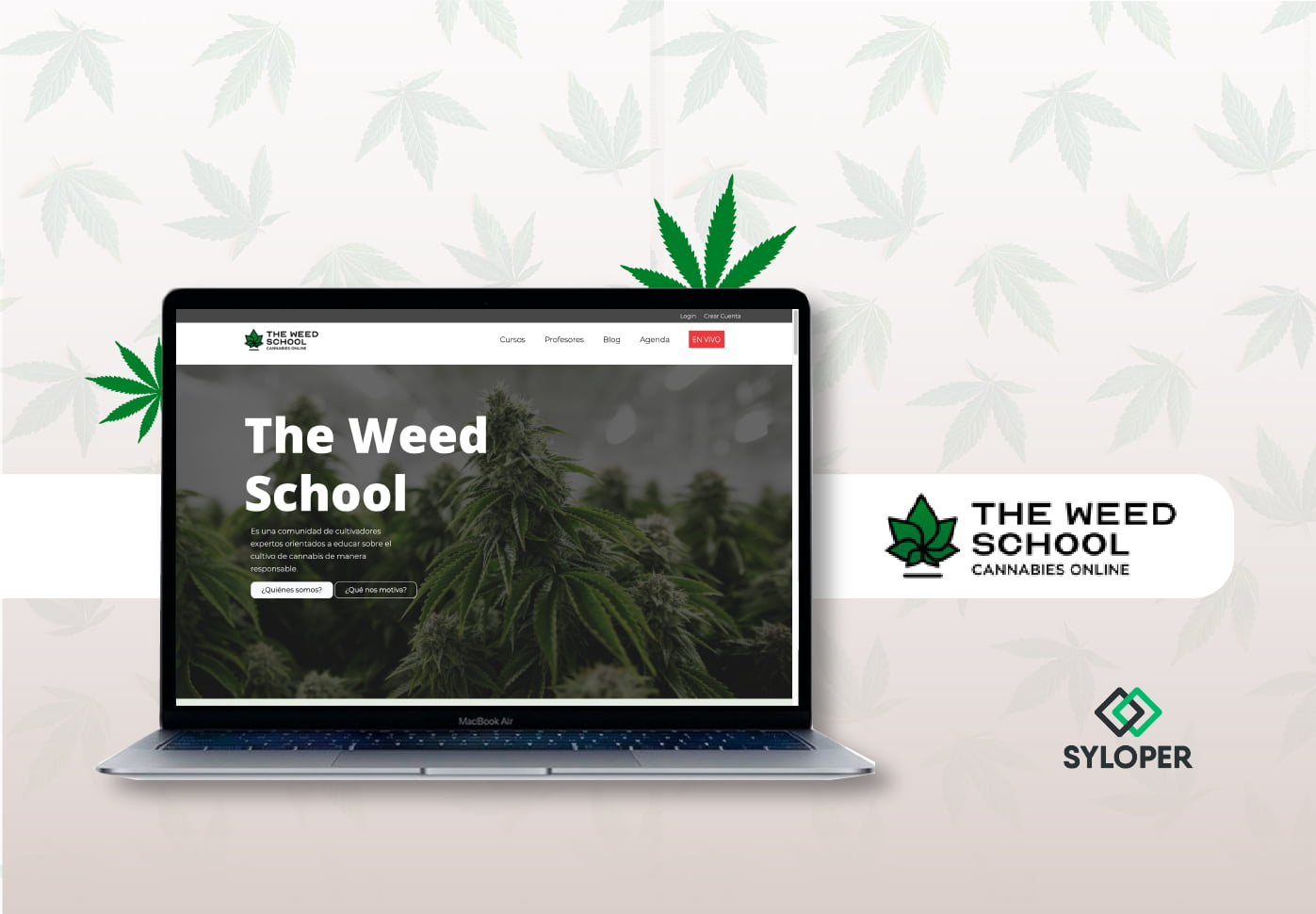 The Weed School: una plataforma digital de aprendizaje