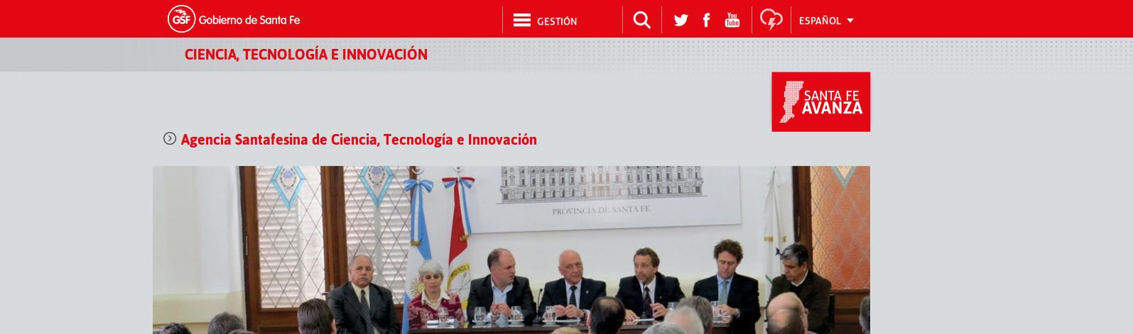 Agencia Santafesina de Ciencia, Tecnología e Innovación (ASaCTeI)
