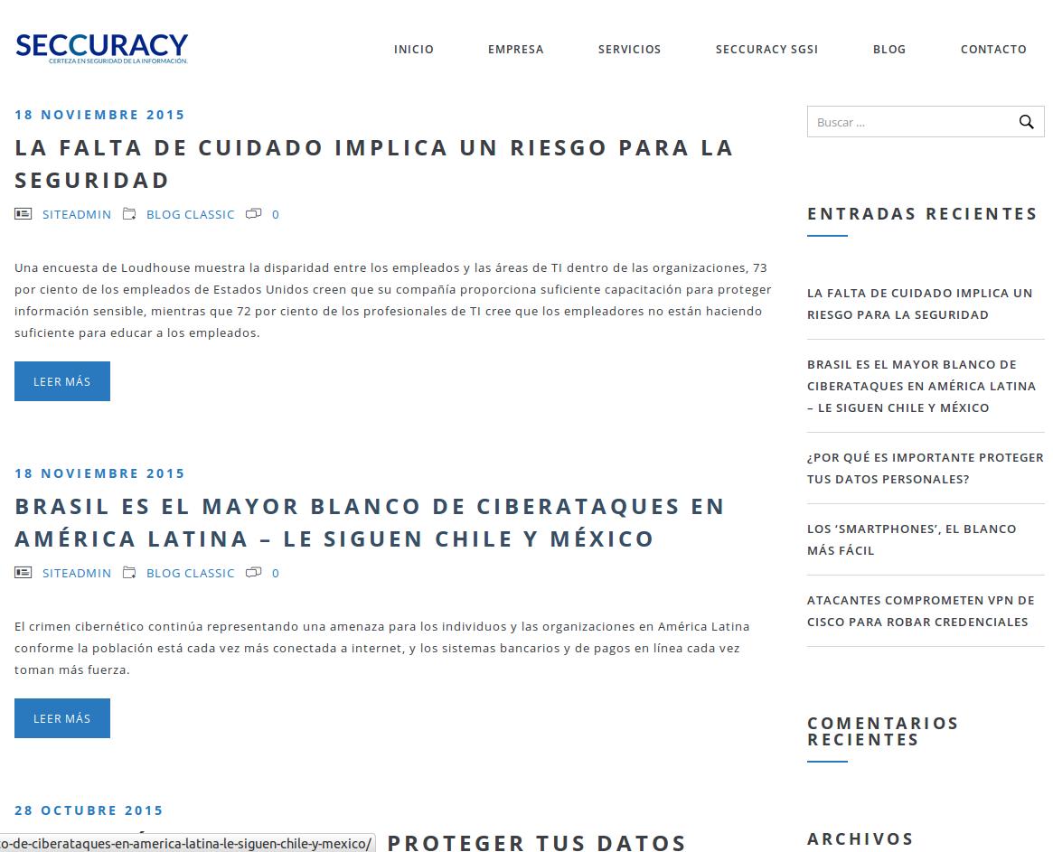 blog seccuracy