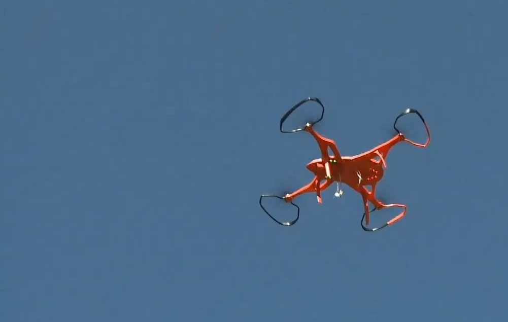 Un estudiante argentino diseñó un dron rescatista