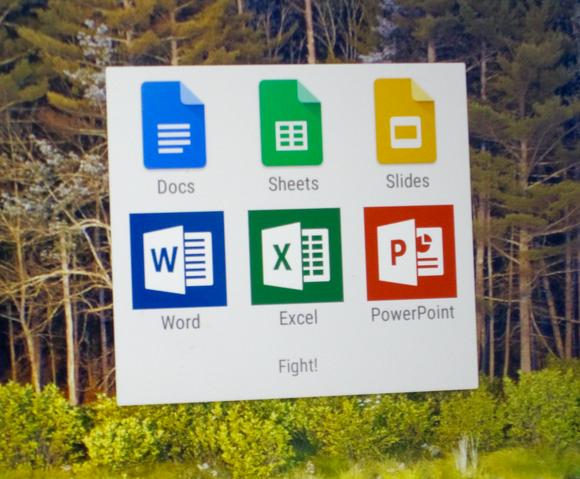 Tablets: ¿Google Docs o Microsoft Office?