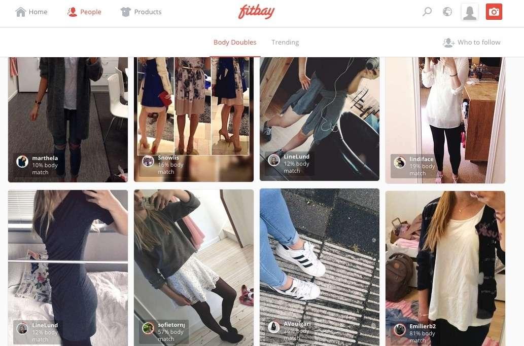 """Fitbay: la app que encuentra a tu """"doble"""" para que te inspires en su estilo"""