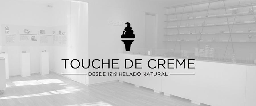 App heladería Touche deCréme