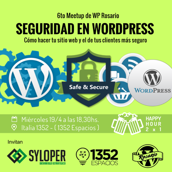 Charla de Seguridad WordPress